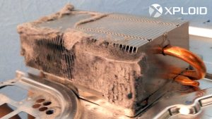 Радиатор Playstation 4